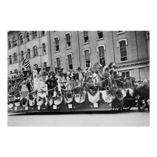 WWI Preparedness Parade, 1916 Posters