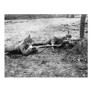 WWI Soldiers Postcard