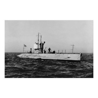 WWI Submarine L-1 (SS-40) Poster