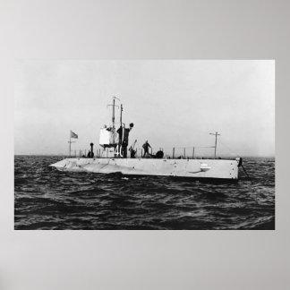 WWI Submarine L-1 SS-40 Print