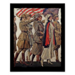WWI Women Nursing Recruits Posters