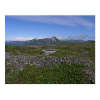 WWII Artillery Mount, Unalaska Island Postcard