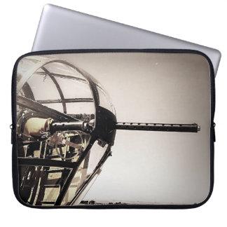 WWII B-25 Bomber Art Laptop Sleeve