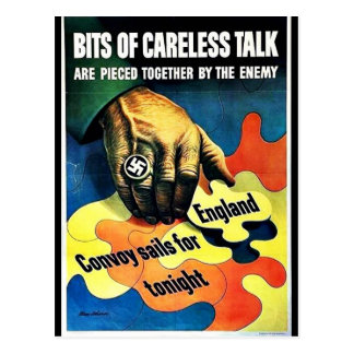 Wwii Careless3 Postcards