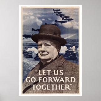 WWII England - Vintage Patriotism Posters
