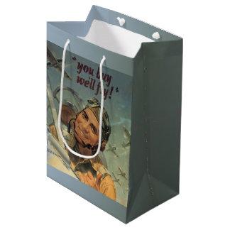 WWII Era Medium Gift Bag