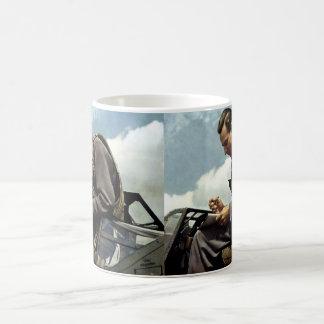 WWII German Test Pilot Fritz Wendel Coffee Mug