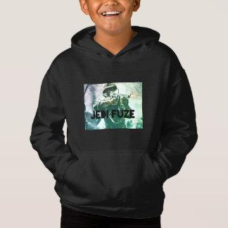 WWII Jedi Fuze Fleece Pullover Hoodie