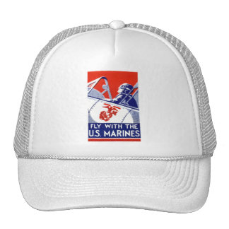 WWII Marine Corps Aviation Hat