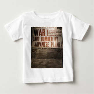 WWII Newspaper Baby T-Shirt