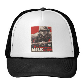 WWII - Produce More Milk for HIm Cap