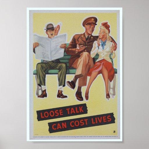 WWII  propaganda poster / War Effort
