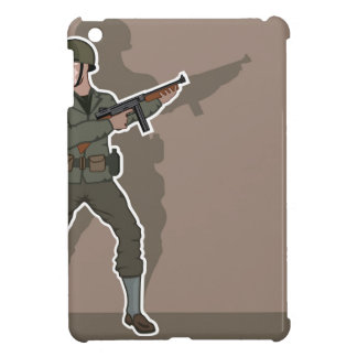 WWII soldier iPad Mini Covers