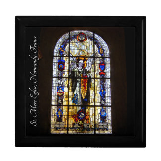 WWII - St Mere Eglise, Normandy, France Gift Box