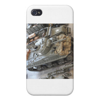 WWII Tanks iPhone 4 Case
