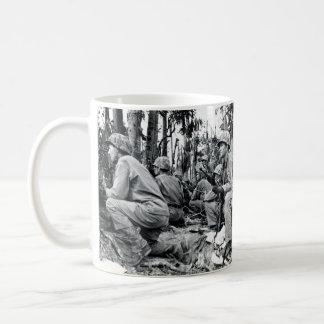 WWII US Marines on Peleliu Coffee Mug
