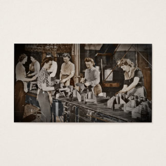 WWII Women in Assembly Line