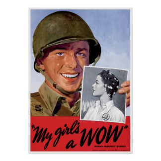 WWII Women Ordnance Workers Poster