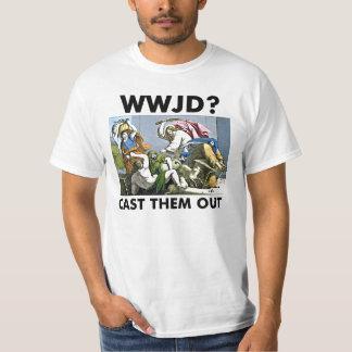 WWJD?  OCCUPY WALL ST SHIRT