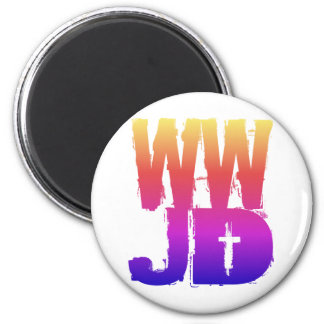 WWJD What Would Jesus Do Magnet