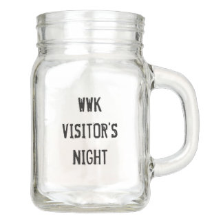 WWK Visitor's Night 12oz Glass Mug