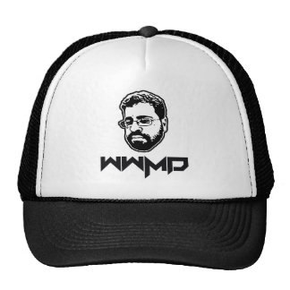 WWMD What Would Manolo Do Mesh Hat