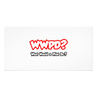 WWPD What Would a Pilot Do Picture Card