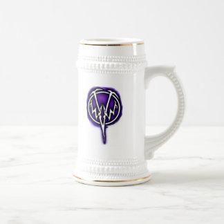 WWV purple logo stein Beer Steins