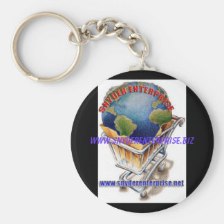 www.snydere...chain basic round button key ring