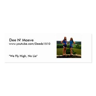 www.youtube.com/Deedz15 Business Card Template