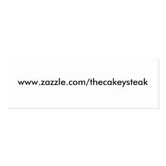 www zazzle com thecakeysteak business cards
