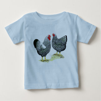 Wyandottes Silver-laced Pair Baby T-Shirt