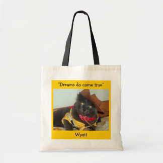 "Wyatt ""Dreams do come True""  Tote bag"