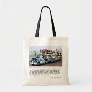 WYATT Rainbow Bridge Tote Bag