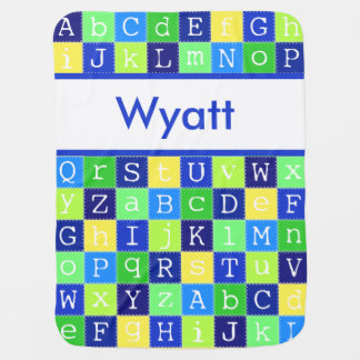 Wyatt's Personalized Blanket
