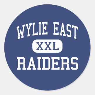 Wylie East - Raiders - High School - Wylie Texas Classic Round Sticker