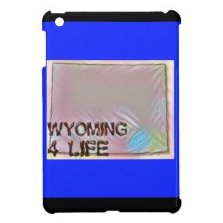 """Wyoming 4 Life"" State Map Pride Design Case For The iPad Mini"
