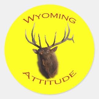 Wyoming Attitude Sticker