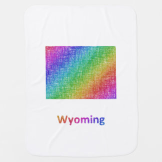 Wyoming Baby Blanket