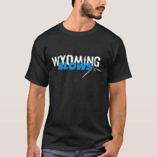 Wyoming Blows Style 1/ Black T-Shirt