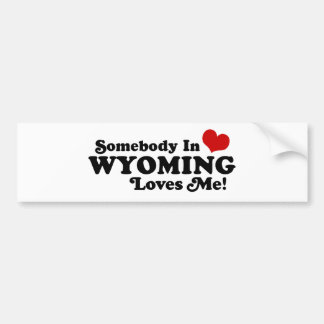 Wyoming Bumper Sticker