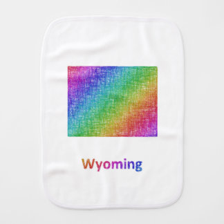 Wyoming Burp Cloth