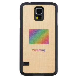 Wyoming Carved Maple Galaxy S5 Case