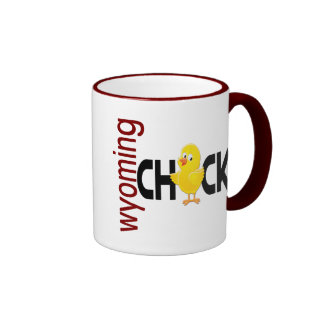 Wyoming Chick 1 Coffee Mugs