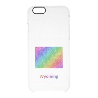 Wyoming Clear iPhone 6/6S Case