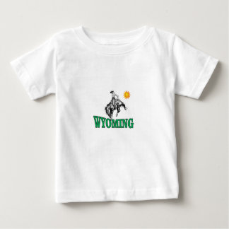 Wyoming cowboy baby T-Shirt