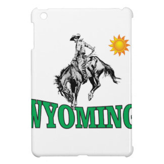 Wyoming cowboy iPad mini cases