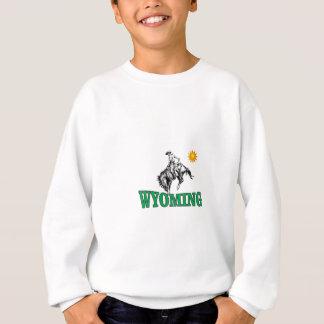 Wyoming cowboy sweatshirt
