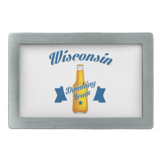 Wyoming Drinking team Belt Buckle