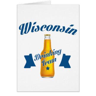 Wyoming Drinking team Card